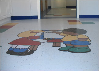 A Gallery of Floors helped the Didsbury Preschool with not only a cash donation, but all the flooring needed for the Preschool's rebuild.